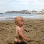 Alex -  Het Canteras strand!