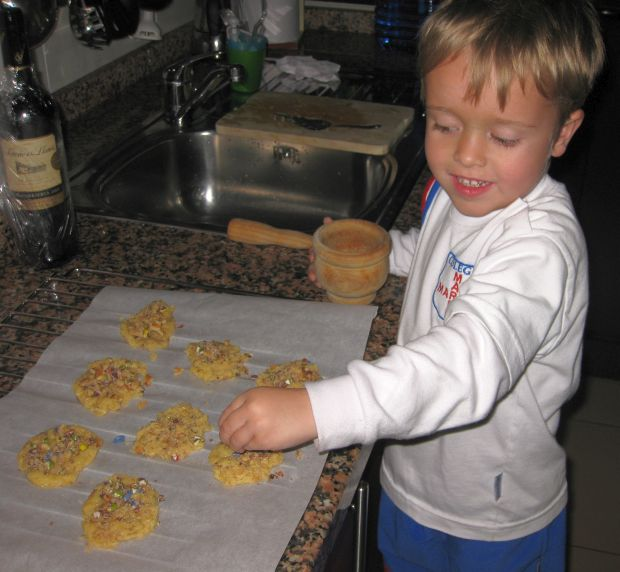 Alex - Cookie chef!