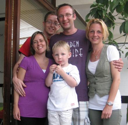 Bezoek Rogier, Barbara en Lucas 2011