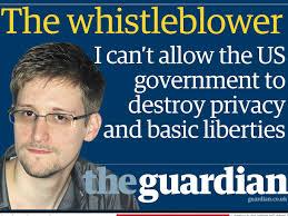 Edward Snowden! Hero!