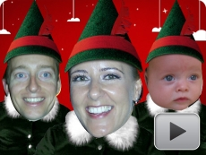 Elf yourself - Featuring Ana, Alex and Adrie!