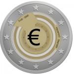 Euro munt Adrie!