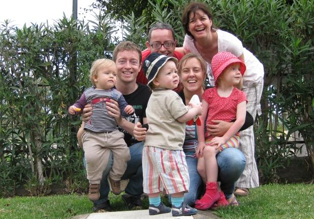Familie op bezoek - Maspalomas 2013!