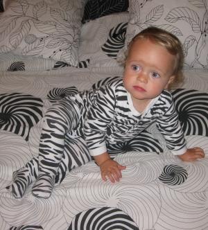 Camouflaged Alex!