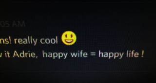 Happy wife = happy life!