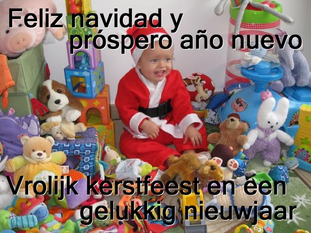 Kerstwens Alex 2012!