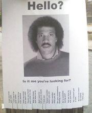 Lionel!