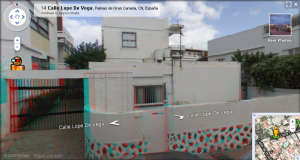 Lope de Vega (my home) in 3D!