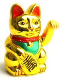 Maneki Neko, the lucky cat!