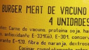 Beef hamburger!