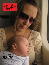 Ana in Ray Ban reclame!
