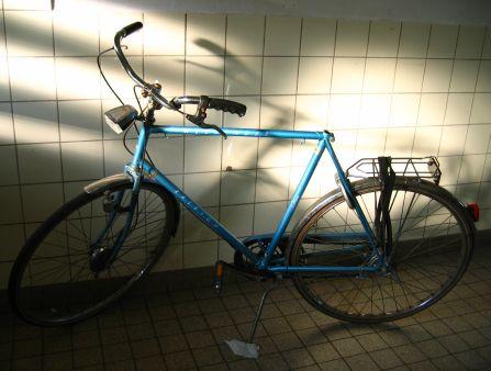 Zadelloze fiets!