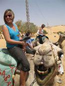 Ana op de kameel!