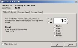 DatePad - Calculate